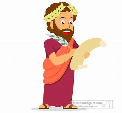 Greek Ancient Clipart Emperor Greece Document Signing