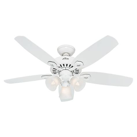 small white ceiling fan hunter fan company builder small room snow white ceiling