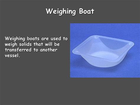 Weighing A Boat by Glass Stir Rod Sliderbase