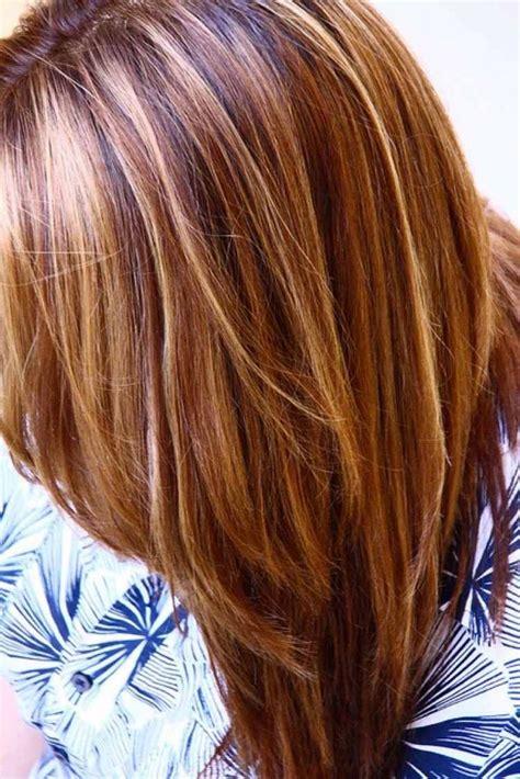caramel haarfarbe mit blonden strähnen die 25 besten ideen zu str 228 hnen auf bunte str 228 hnen dunkle br 252 nette balayage und
