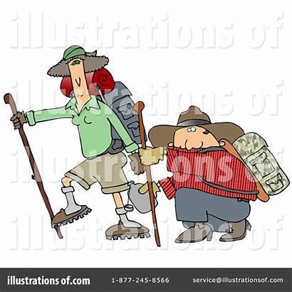 Hiking Clipart Illustration Royalty Cox Dennis Rf