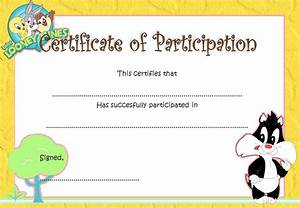 free templates for certificates of participation - participation certificate template 5 best 10 templates