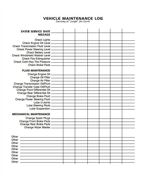 This mentality may work in the short term, but constant reactive maintenance can actually waste thousands of dollars each year due to lack of consistent, proactive repairs. Image result for excel vehicle maintenance log | Vehicle maintenance log, Schedule template ...
