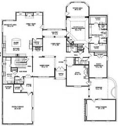 Spectacular Bedroom Bath House Plans by 654276 4 Bedroom 4 5 Bath House Plan House Plans