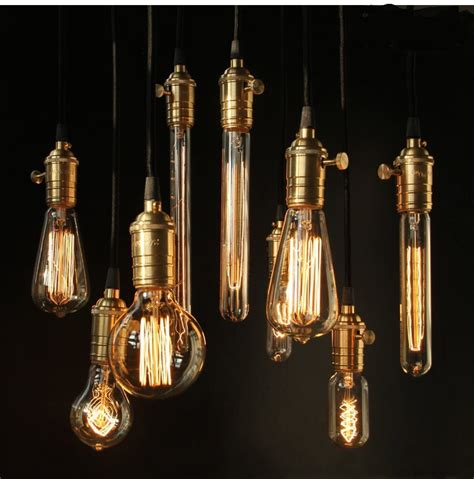 aliexpress buy vintage edison bulb clear glass light