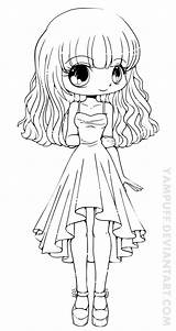 Coloring Chibi Pages Anime Adults Pretty Doll Boy Dolls sketch template