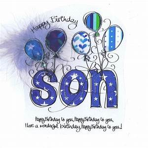 Birthday Cards to son son birthday cards card relation