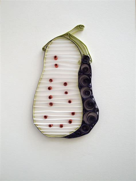 eggplant kitchen accessories quilling paper purple eggplant home decor eggplant 3534