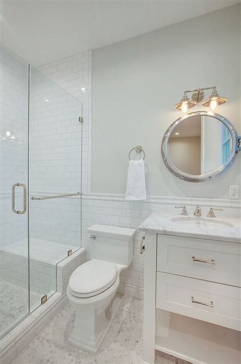 On Bathroom Wall Tiles by 1000 Ideas About Subway Tile Showers On White