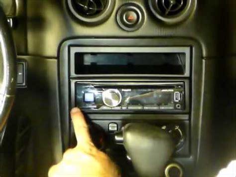 Mazda Miata Oem Bose Stereo Replacement Youtube