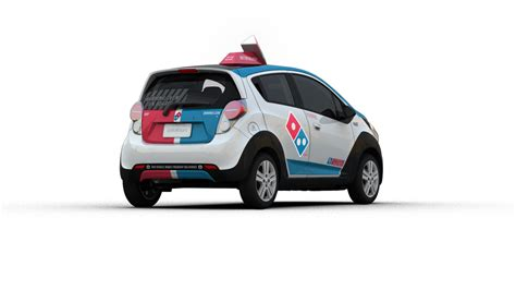 Dominos Pizza Cars by Domino S Just Unveiled A Radical Pizza Delivery Car That