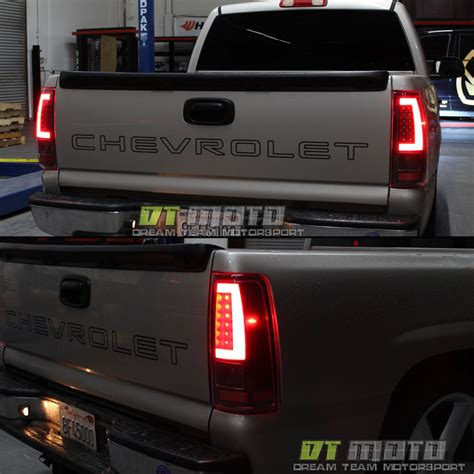 2006 silverado led lights black 2003 2006 chevy silverado 1500 led light bar