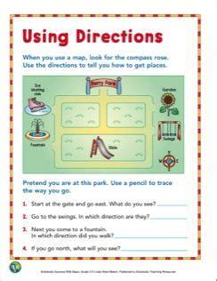 directions grade  map skills map skills map