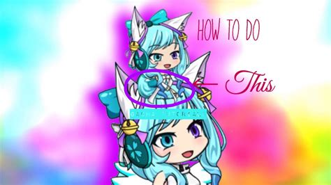 How To Make A Pocket Chibi Sit On A Gacha Studio Character