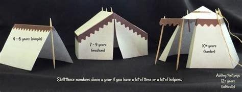 tents  barracks paper models  jesus