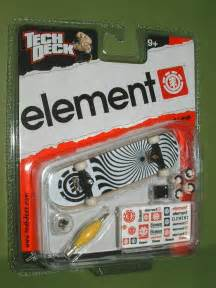 tech deck element swirl black trucks fingerboard 96mm skateboard new ebay