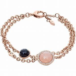 Bracelet fossil bijoux fashion jf02505791 bracelet acier for Bijoux fashion