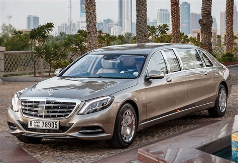 mercedes maybach   pullman specifications