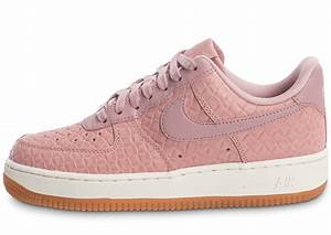 sports shoes 1e391 49bb8 nike air force 1 39 07 premium w rose chaussures femme chausport
