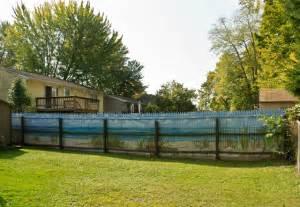 kitchen center island ideas mural on fence style landscape