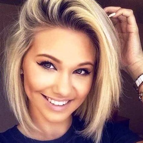 chic  gorgeous short hairstyles   faces