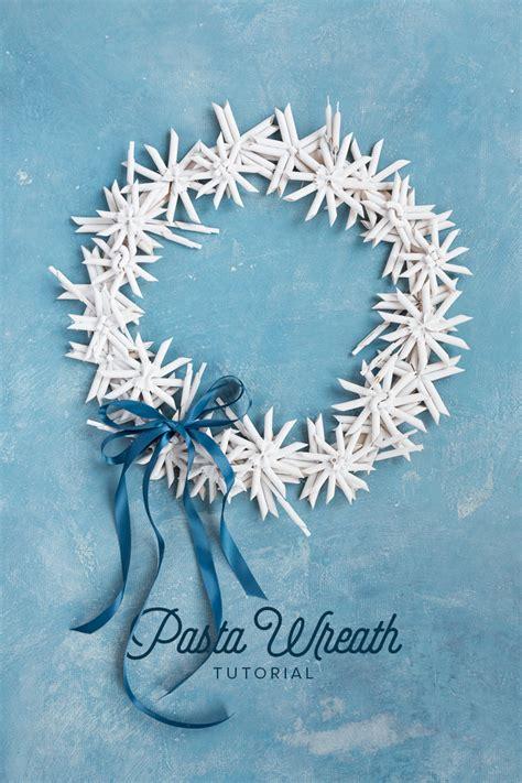 diy pasta wreath crafts diys diy wreath wreaths