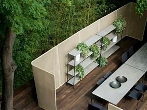 Paravent Extérieur Balcon : paravent balcon castorama id e inspirante pour la conception de la maison ~ Teatrodelosmanantiales.com Idées de Décoration