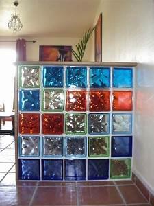 Brique De Verre Couleur : transparences imagine philom ne ~ Melissatoandfro.com Idées de Décoration