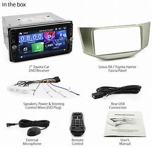 Car Dvd Mp3 Player For Lexus Rx 300 330 350 Xu30 Head Unit