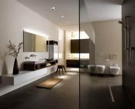 badezimmer braun moderne badezimmer mit minimalistischem design toto