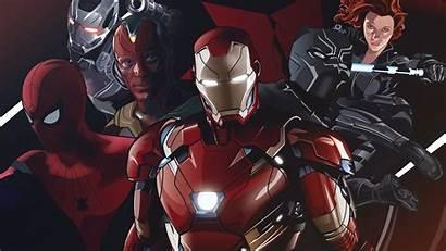 4k Marvel Iron Wallpapers Superheroes Team Widow