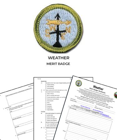 Weather Merit Badge (worksheet & Requirements