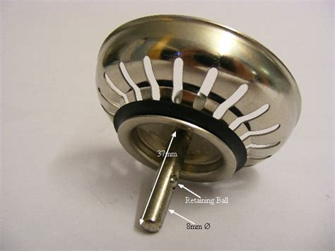 franke kitchen sink plugs franke lira 008445 basket strainer waste sink w2 94 3525
