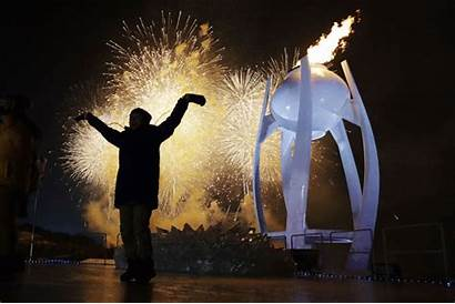 Olympics Opening Winter Ceremony Korea South Olympic