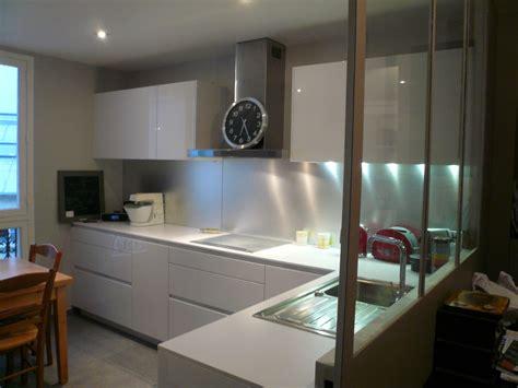 cuisine avec verri鑽e cuisine avec verriere interieur idées de design suezl com
