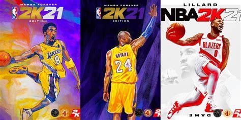 Kobe Bryant, Zion Williamson and Damian Lillard 'NBA 2K21 ...