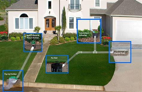 driveway flooding solutions drainage wet yard installation maintenance ct tjb inc