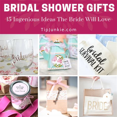 What To Give On Bridal Shower - 18 ingenious bridal shower gifts the will tip