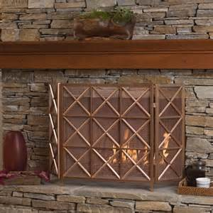 51 Decorative Fireplace Screens To Instantly Update Your