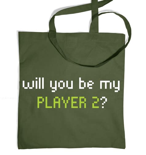 player  tote bag somethinggeeky