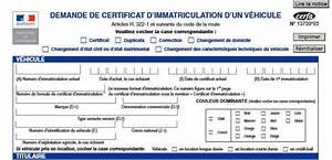 Demande D Immatriculation Véhicule : les d marches siv bfc ~ Gottalentnigeria.com Avis de Voitures
