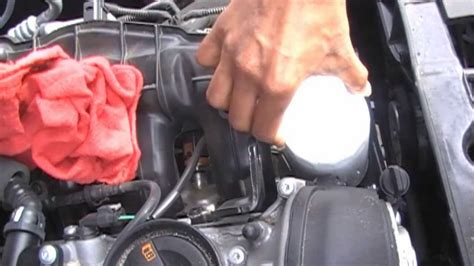 how to replace the l in a tv audi a4 oil change how to b8 chassis 2009 present