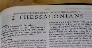 What Is The Purpose Of The Book Of 2 Thessalonians