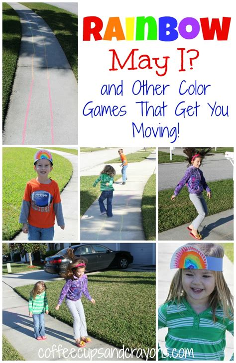 rainbow outdoor for preschool coffee cups and crayons 767 | Rainbow May I2