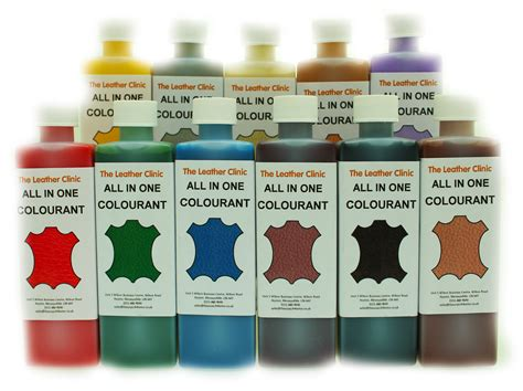 Leather All In One Dye Paint Repair Kit For Worn & Scratch