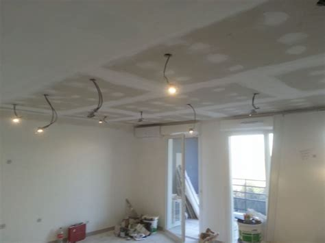 r 233 alisation d un faux plafond en placo ba 13 pos 233 sur rails 224 marseille 13010 r 233 novation