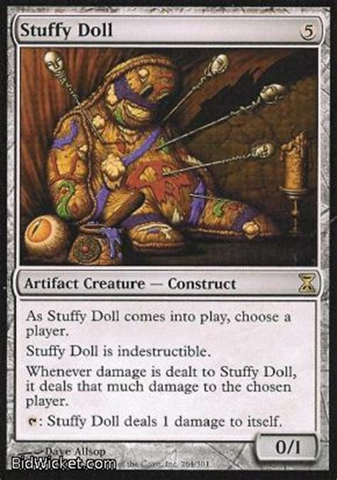 Mtg Stuffy Doll Deck Modern by Trading Cards Miniatures Booster Boxes At Strike Zone