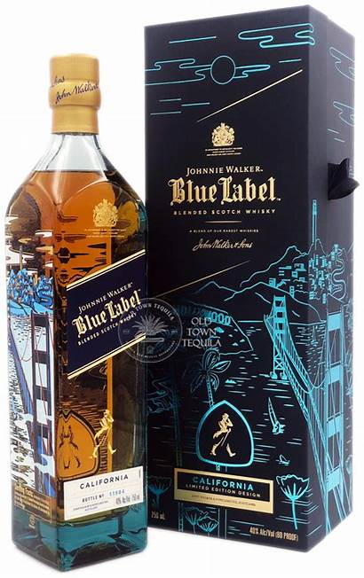 Walker Label Johnnie California Edition Tequila Mixed