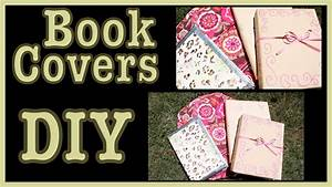 DIY: Book Covers Ideas & How To Decorate Them! - YouTube