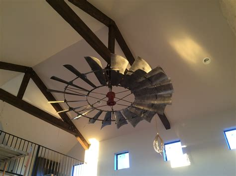 antique looking ceiling fans create a conversation piece windmill ceiling fans are a
